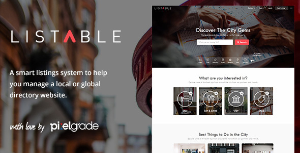Listable by PixelGrade