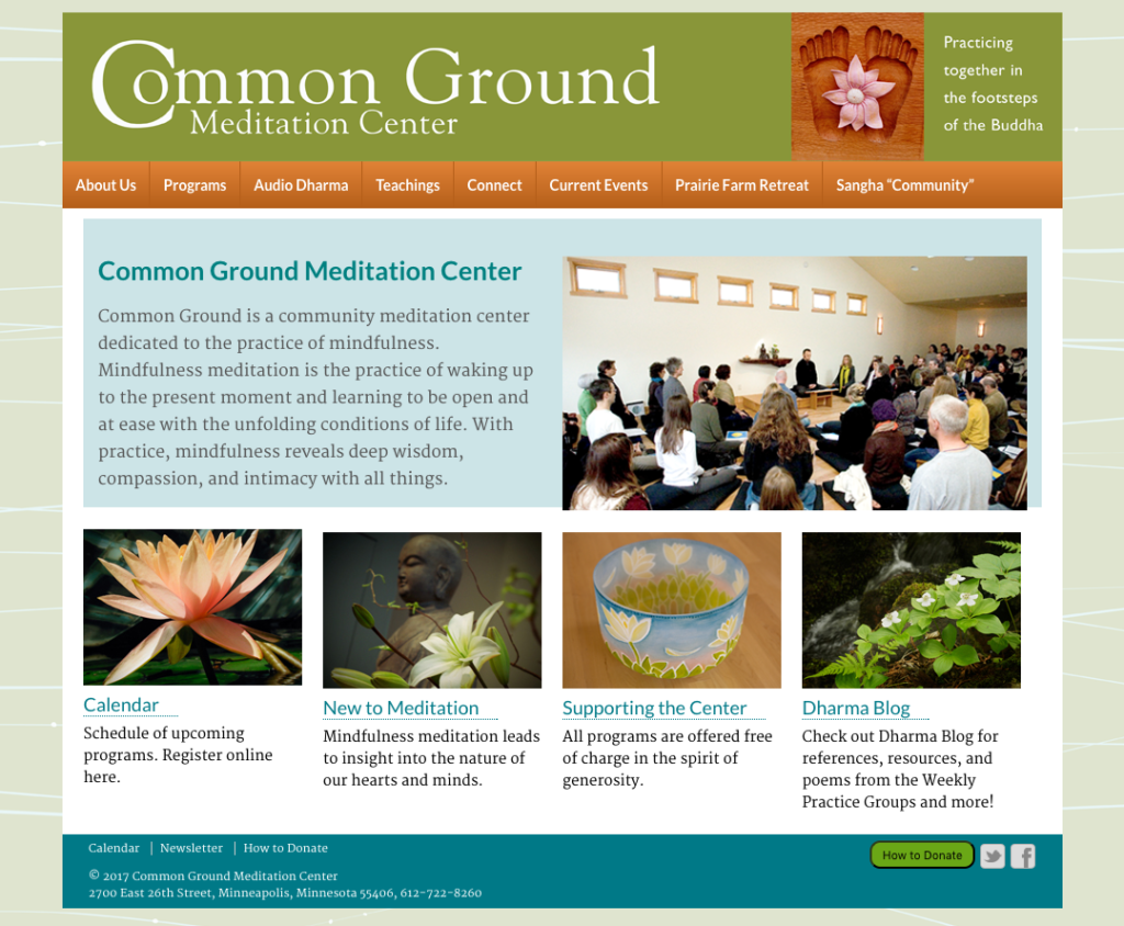 Common Ground Meditation Center